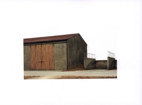 Maschinenhalle - Machinery Shed 1999, C-Print, 79 x 124 cm
