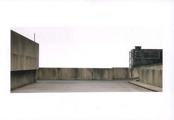 Parkdeck - Parking Deck 1997, C-Print, 76 x 144 cm