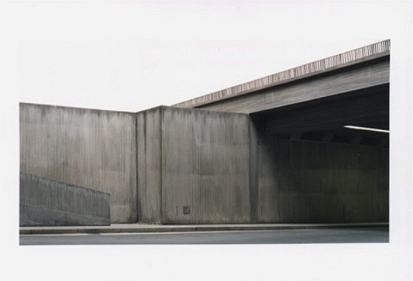 Stadttunnel - City Tunnel 1998, C-Print, 77 x 124 cm