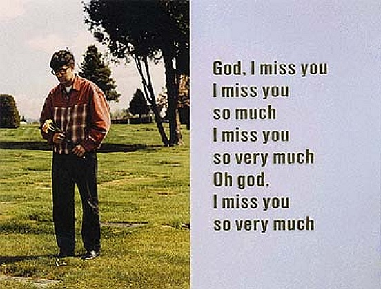 God I miss you so much,  1994