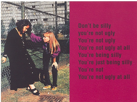 Don't be silly, 1993, laminated c-print on sintra, lacquer, enamel & aluminium,  182 x 243 cm